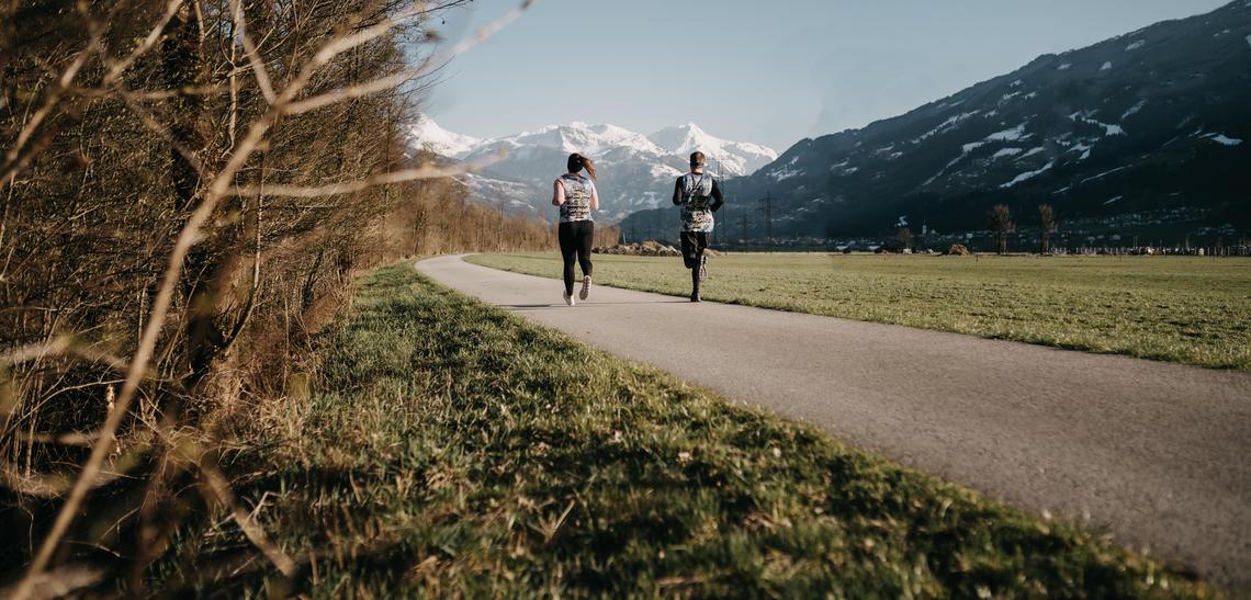 Laufen mit Teamspirit