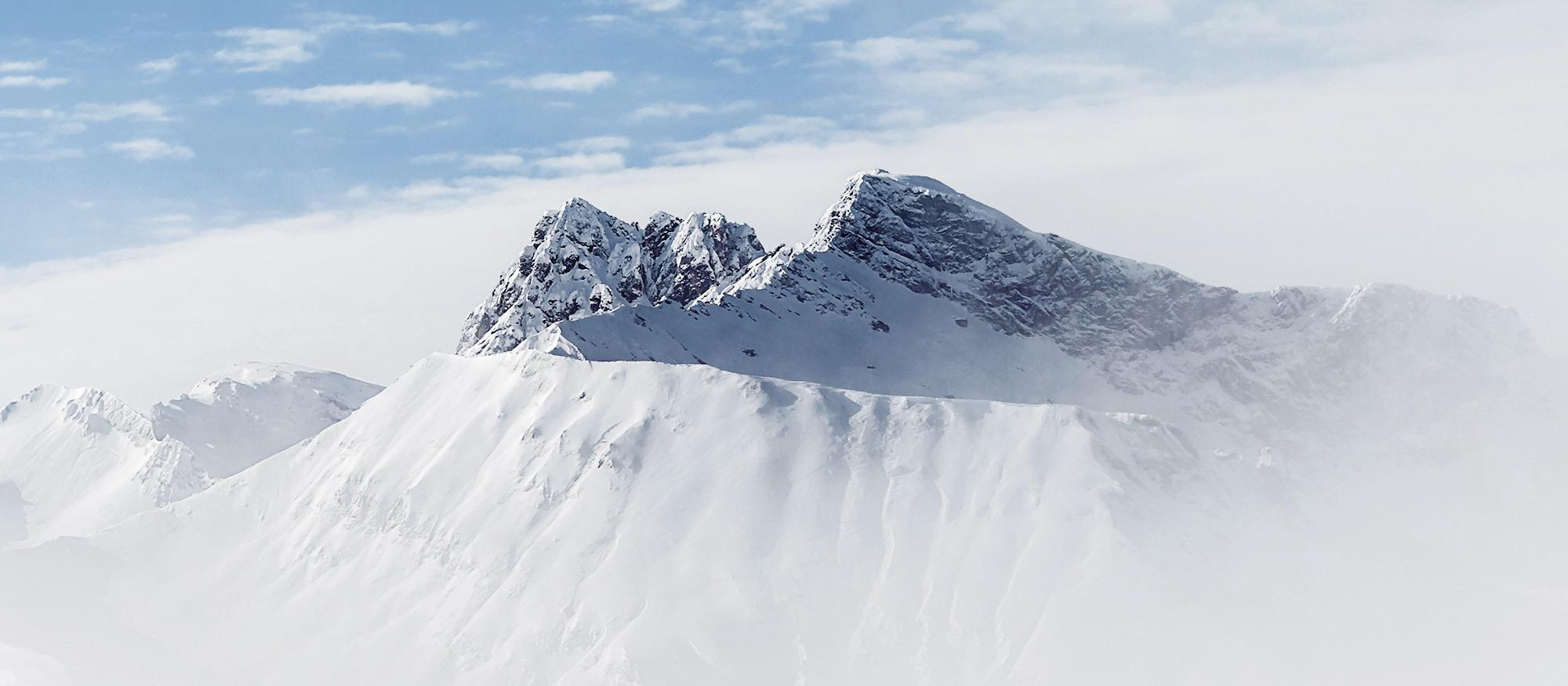 Ursprung unseres Alpenmineralwassers ALPQUELL